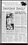 Spartan Daily, October 26, 1983 by San Jose State University, School of Journalism and Mass Communications
