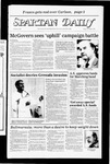 Spartan Daily, November 4, 1983 by San Jose State University, School of Journalism and Mass Communications