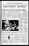 Spartan Daily, November 15, 1983 by San Jose State University, School of Journalism and Mass Communications