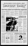 Spartan Daily, February 1, 1984 by San Jose State University, School of Journalism and Mass Communications