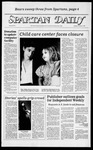 Spartan Daily, February 7, 1984 by San Jose State University, School of Journalism and Mass Communications