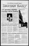 Spartan Daily, February 27, 1984 by San Jose State University, School of Journalism and Mass Communications