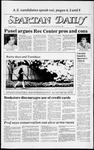 Spartan Daily, March 14, 1984 by San Jose State University, School of Journalism and Mass Communications
