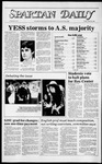 Spartan Daily, March 23, 1984 by San Jose State University, School of Journalism and Mass Communications