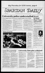 Spartan Daily, April 2, 1984 by San Jose State University, School of Journalism and Mass Communications