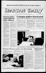 Spartan Daily, April 4, 1984 by San Jose State University, School of Journalism and Mass Communications