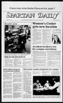 Spartan Daily, April 6, 1984 by San Jose State University, School of Journalism and Mass Communications