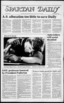 Spartan Daily, April 27, 1984 by San Jose State University, School of Journalism and Mass Communications