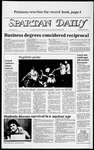 Spartan Daily, May 1, 1984 by San Jose State University, School of Journalism and Mass Communications