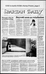 Spartan Daily, May 9, 1984 by San Jose State University, School of Journalism and Mass Communications