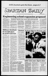 Spartan Daily, May 15, 1984 by San Jose State University, School of Journalism and Mass Communications