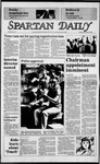 Spartan Daily, September 24, 1984 by San Jose State University, School of Journalism and Mass Communications