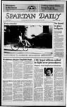 Spartan Daily, October 1, 1984 by San Jose State University, School of Journalism and Mass Communications