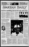 Spartan Daily, October 9, 1984 by San Jose State University, School of Journalism and Mass Communications
