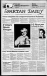 Spartan Daily, October 25, 1984 by San Jose State University, School of Journalism and Mass Communications