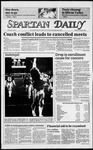 Spartan Daily, October 30, 1984 by San Jose State University, School of Journalism and Mass Communications