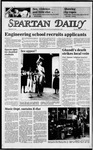 Spartan Daily, November 1, 1984 by San Jose State University, School of Journalism and Mass Communications