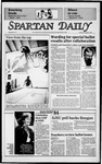 Spartan Daily, November 6, 1984 by San Jose State University, School of Journalism and Mass Communications