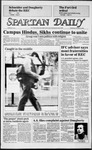 Spartan Daily, November 14, 1984 by San Jose State University, School of Journalism and Mass Communications