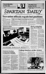 Spartan Daily, December 3, 1984 by San Jose State University, School of Journalism and Mass Communications