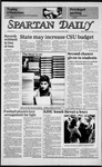 Spartan Daily, January 28, 1985 by San Jose State University, School of Journalism and Mass Communications