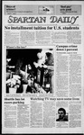 Spartan Daily, February 4, 1985 by San Jose State University, School of Journalism and Mass Communications