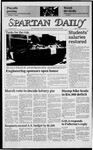 Spartan Daily, February 25, 1985 by San Jose State University, School of Journalism and Mass Communications