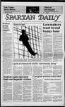 Spartan Daily, March 11, 1985 by San Jose State University, School of Journalism and Mass Communications