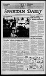 Spartan Daily, March 20, 1985 by San Jose State University, School of Journalism and Mass Communications