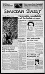 Spartan Daily, March 26, 1985 by San Jose State University, School of Journalism and Mass Communications