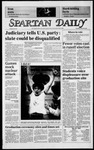 Spartan Daily, March 28, 1985 by San Jose State University, School of Journalism and Mass Communications