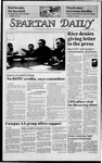 Spartan Daily, April 16, 1985 by San Jose State University, School of Journalism and Mass Communications