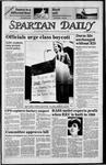 Spartan Daily, April 18, 1985 by San Jose State University, School of Journalism and Mass Communications