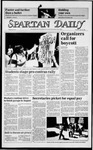 Spartan Daily, April 23, 1985 by San Jose State University, School of Journalism and Mass Communications