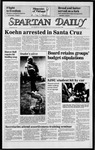 Spartan Daily, April 29, 1985 by San Jose State University, School of Journalism and Mass Communications
