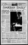 Spartan Daily, May 2, 1985 by San Jose State University, School of Journalism and Mass Communications