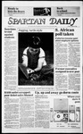 Spartan Daily, August 30, 1985 by San Jose State University, School of Journalism and Mass Communications