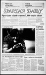 Spartan Daily, September 6, 1985 by San Jose State University, School of Journalism and Mass Communications
