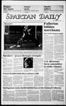 Spartan Daily, September 20, 1985 by San Jose State University, School of Journalism and Mass Communications