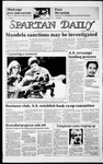 Spartan Daily, October 2, 1985 by San Jose State University, School of Journalism and Mass Communications