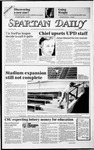 Spartan Daily, October 3, 1985 by San Jose State University, School of Journalism and Mass Communications