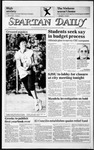 Spartan Daily, October 8, 1985 by San Jose State University, School of Journalism and Mass Communications