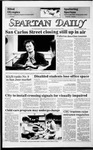 Spartan Daily, October 9, 1985 by San Jose State University, School of Journalism and Mass Communications