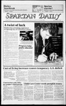 Spartan Daily, October 11, 1985 by San Jose State University, School of Journalism and Mass Communications
