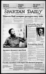 Spartan Daily, October 14, 1985 by San Jose State University, School of Journalism and Mass Communications