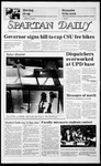 Spartan Daily, October 15, 1985 by San Jose State University, School of Journalism and Mass Communications
