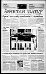 Spartan Daily, October 16, 1985 by San Jose State University, School of Journalism and Mass Communications