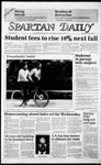 Spartan Daily, October 17, 1985 by San Jose State University, School of Journalism and Mass Communications