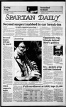 Spartan Daily, October 21, 1985 by San Jose State University, School of Journalism and Mass Communications