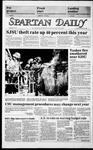 Spartan Daily, October 22, 1985 by San Jose State University, School of Journalism and Mass Communications